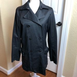 Theory Dinny Trench Coat Made in Italy Sz L